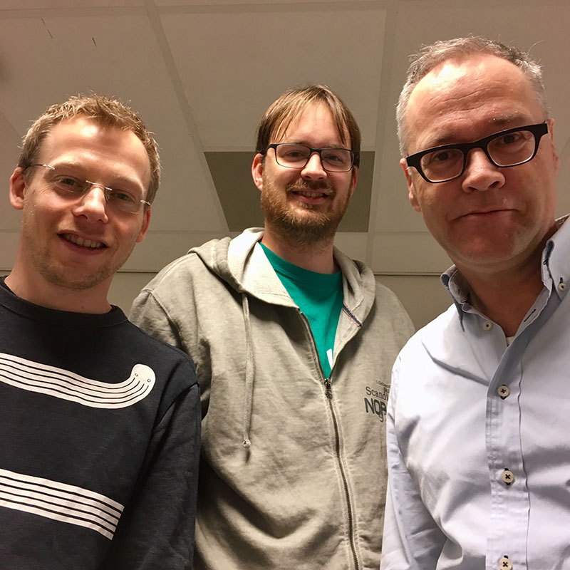 Olaf Janssen, Tom Langhorst & Bernd-Jan Witkamp